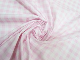 Gingham Cotton- Baby Pink #5339