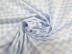 Gingham Cotton- Blue #5342