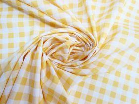 Gingham Cotton- Yellow #5343