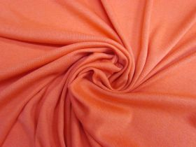 Cuddly Soft Ribbed Jersey- Sweet Potato #5349
