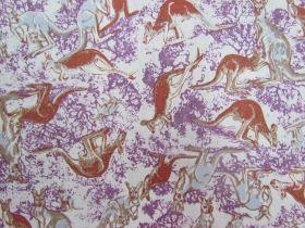 Kangaroo Cotton- Natural