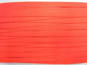 12mm Braided Elastic- Fluro Red #3842