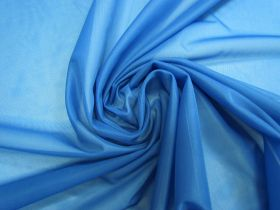 Lightweight Nylon Tricot- Azure Blue #3850