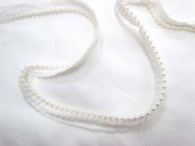 Vintage Pearl Trim- White