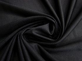 Micro Mesh Moisture Management Sports Knit- Black #1662
