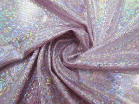 Shattered Glass Spandex- Light Pink