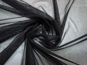Soft Stretch Mesh- Black #1692