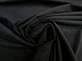Lightweight Velour- Snuggly Black #5420