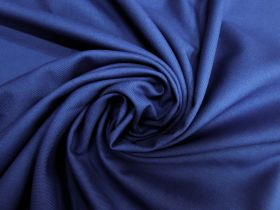 Wool Blend Twill Suiting- Club Blue #5436