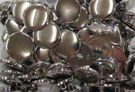 Large Mirrored Fashion Buttons- FB057