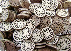Reversible Fashion Buttons- Malt- FB060