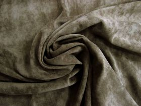 Stretch Suede- Coffee Brown #3923