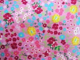 Flower Festival Cotton- Pink PW1312