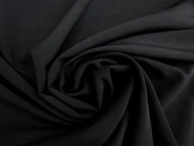 Double Faced Chiffon- Black #3958