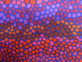 Brandon Mably Pebble Mosaic- Prune