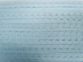19mm Ribbon Insertion Lace Trim- Baby Blue #536