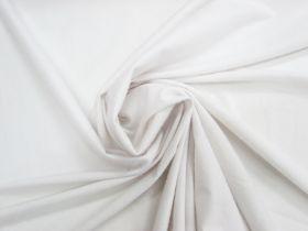 Brushed Soft Matte Spandex- White #4038