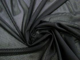 Polyester PBT Sports Mesh- Black #4091