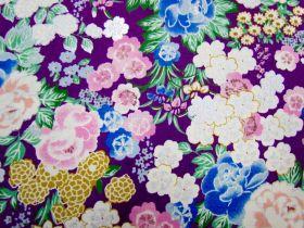 Japanese Garden #13D- Purple