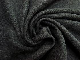 Herringbone Wool Coating- Charcoal #5477