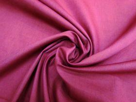 Roll of Poplin- Burgundy
