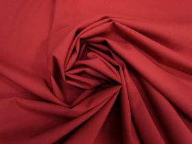 Wool Blend Stretch Suiting- Red #5490