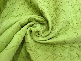 Quilted Polyester- Lime Green #5492