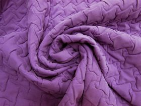 Quilted Polyester- Purple Grape #5493