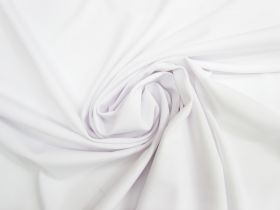 Matte Spandex Knit- White #4119
