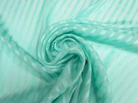 Satin Ribbon Stripe Silk- Mint #5499