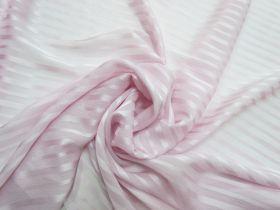 Satin Ribbon Stripe Silk- Pink #5500
