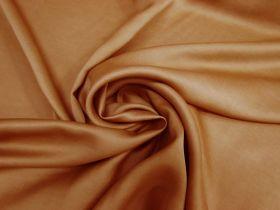 Delustered Crepe Back Satin- Rust #5511