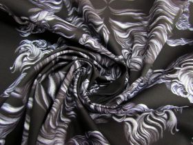 Smoke And Mirrors Cotton Canvas #5520