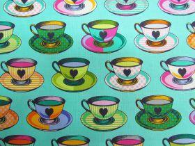Tula Pink Curiouser And Curiouser- Tea Time- Daydream #163