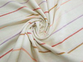 Ruby Star Society- Warp Weft Heirloom Cotton- Chore Coat Stripe- Sunset