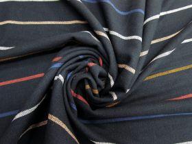 Ruby Star Society- Warp Weft Heirloom Cotton- Chore Coat Stripe- Navy