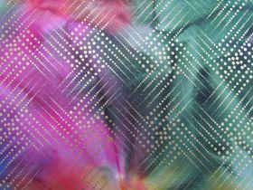 Metallic Gold Batik Cotton- Galaxy Star #4133
