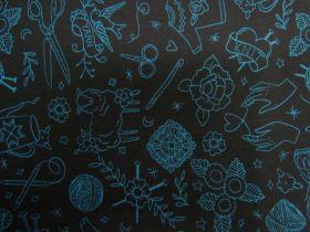 Ruby Star Society Cotton- Purl- Yarn Flash- Black #16