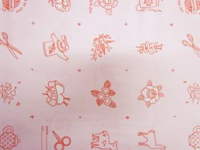 Ruby Star Society Cotton- Purl- Charms- Pale Pink #12