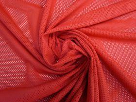 Sports Eyelet Knit- Red #5548