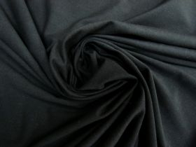 Lightweight Cotton Spandex- Sleepy Black #5547