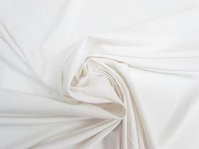 Lightweight Cotton Spandex- Gentle White #5546