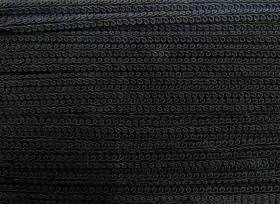 9mm Decorative Braid Trim- Black
