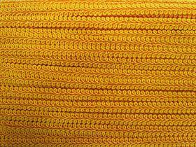 9mm Decorative Braid Trim- Yellow Gold