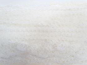 68mm Delicate Nylon Lace- Cream #543
