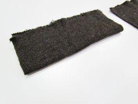 Wool Pre-Cut Cuff Ribbing- Chestnut #RWC002