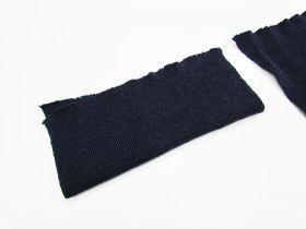 Wool Pre-Cut Cuff Ribbing- Navy #RWC006
