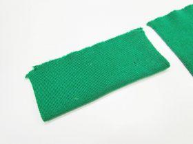 Wool Pre-Cut Cuff Ribbing- Green #RWC007