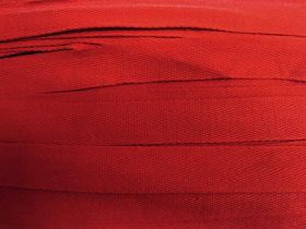 25mm Cotton Heading Tape- Tomato Red #549