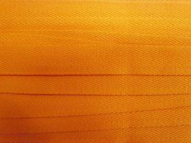 25mm Cotton Heading Tape- Mango #550